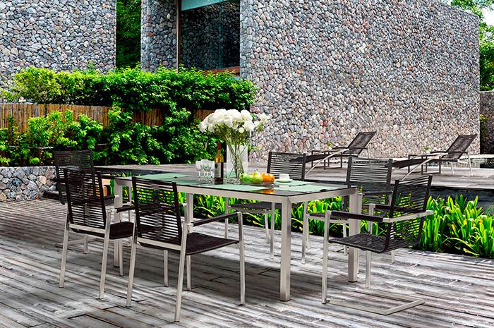 Comedor Harmony. Nuestro comedor Harmony está tejido con lo más nuevo en diseño tailandés, hará de tus comidas y cenas un espacio muy acogedor.